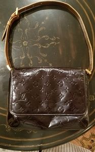 Louis Vuitton Vernis Thompson street handbag